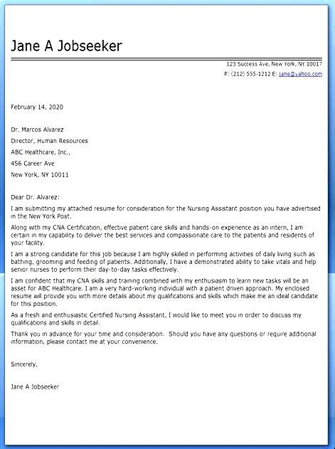 certified assistant cover letter free sles