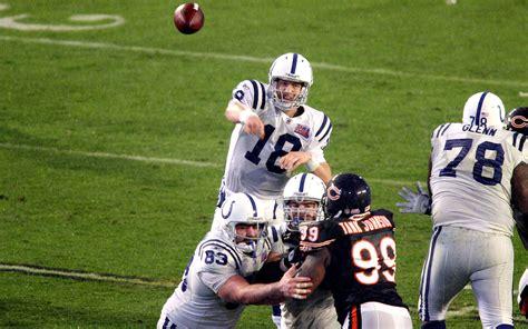 Peyton Manning Super Bowl Xli 2538 247 Yards 1 Td 1