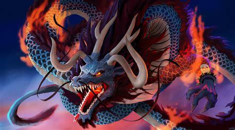 kaido  dragon  fanart   onepiece