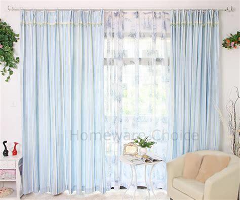 20 Artistic Green Stripe Eyelet Curtains