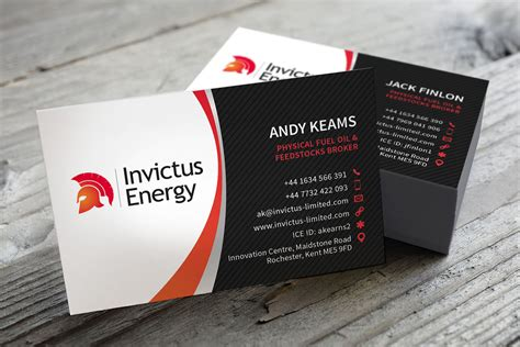 Invictus Energy Business Cards Business Card Magnets Office Depot Templates For Word 2007 Free Female Lawyer Holder Promotional Letter Openers Create Layout Division 6 Sequencer Diy Kit Visiting Karachi Self Laminating Pouches