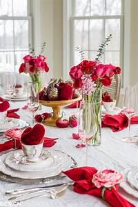 Romantische Ideen Zum Jahrestag : wundersch ne diy ideen f r romantische tischdeko zum valentinstag ~ Frokenaadalensverden.com Haus und Dekorationen