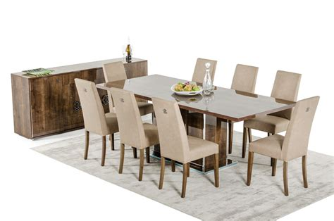 modern table l set modrest athen italian modern dining set