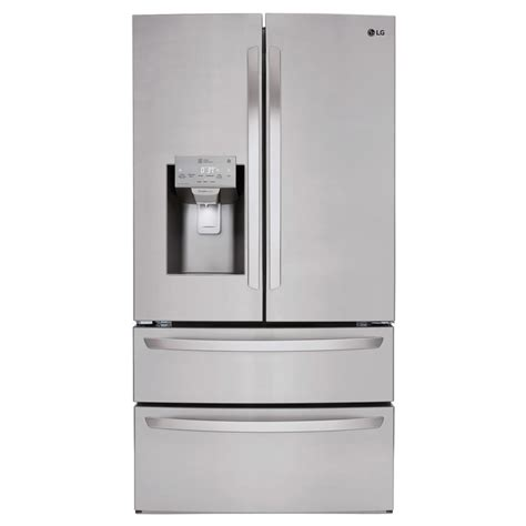 Lg Electronics 278 Cu Ft French Door Refrigerator In