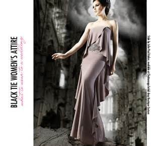 black tie wedding dresses the guide to wedding dress codes the pink