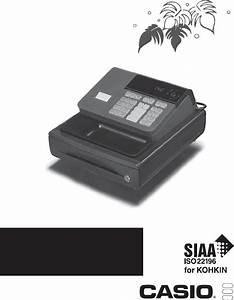 Casio Cash Register 140 Cr User Guide