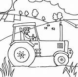 Tractor Coloring Pages Printable Farmer Farm John Deere Ride Lawn Colouring Mower Farmall Drawing Zero Turn Tractors Getcolorings Template Case sketch template