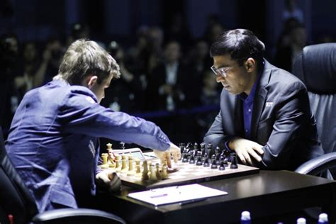 World Chess Championship 2014 Anand Crushes Carlsen In