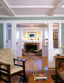 bungalow home interiors arlington bungalow craftsman living room dc metro by architects pc