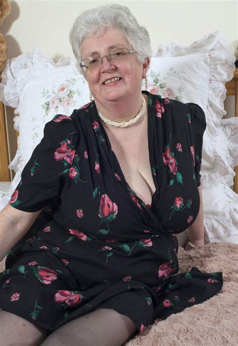 Older Lady Enjoys Swinging On Nye Uk