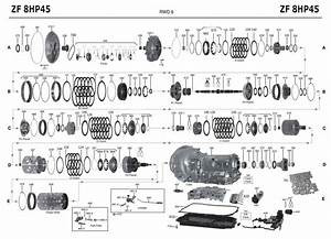 Transmission Repair Manuals Zf8hp45    Zf8hp70    Zf8hp55a