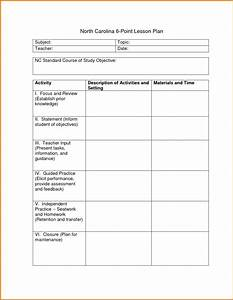 lesson plan outline template 23 examples formats and With team lesson plan template tn