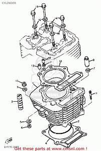 Yamaha Xt550k Dual Purpose 1983 Cylinder