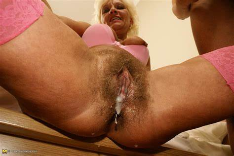 Old Chinese Sweet Covered In Creampie