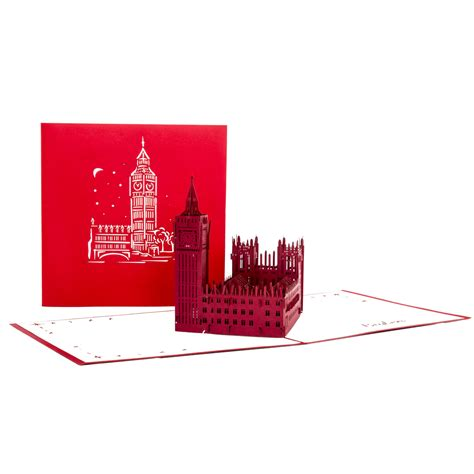 """Ali iščete letalske karte v london? 3D Pop Up Karte """"London - Big Ben"""" z.B. als Reisegutschein ..."""