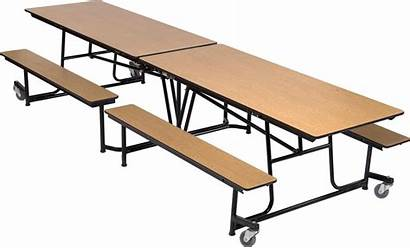 Cafeteria Table Folding Mobile Dine Furniture Accentenvironments