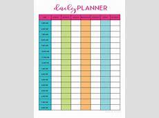 Free Daily Planner Printable Sarah Titus