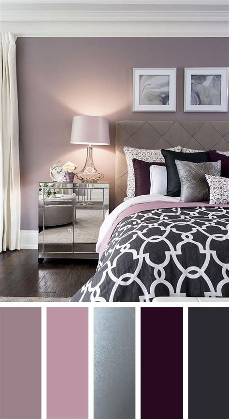 bedroom color schemes ideas  pinterest grey