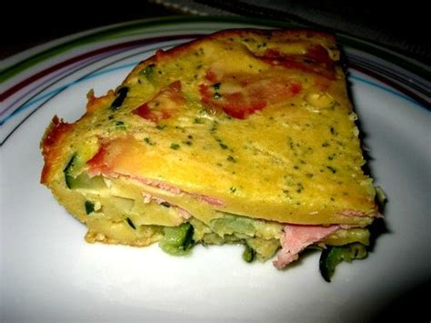 recette cuisine musculation clafoutis jambon courgettes weight watchers clafoutis