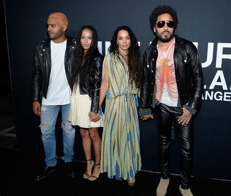 Lisa Bonet And Lenny Kravitz Photos Photos Saint Laurent