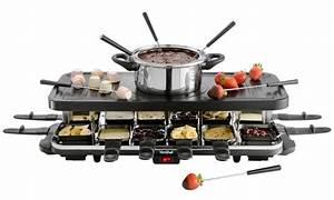 Raclette Fondue Set : vonshef raclette grill groupon goods ~ Michelbontemps.com Haus und Dekorationen