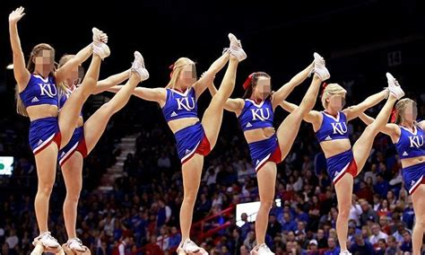 Kansas Cheerleaders Say They Were Subjected To Naked