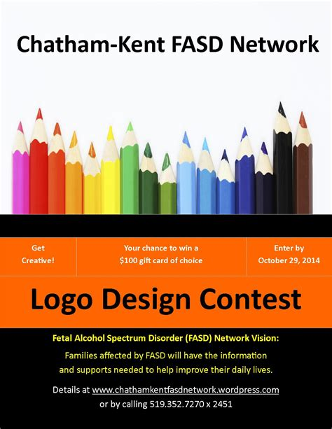 logo design contest fasd logo design contest chatham kent fasd network