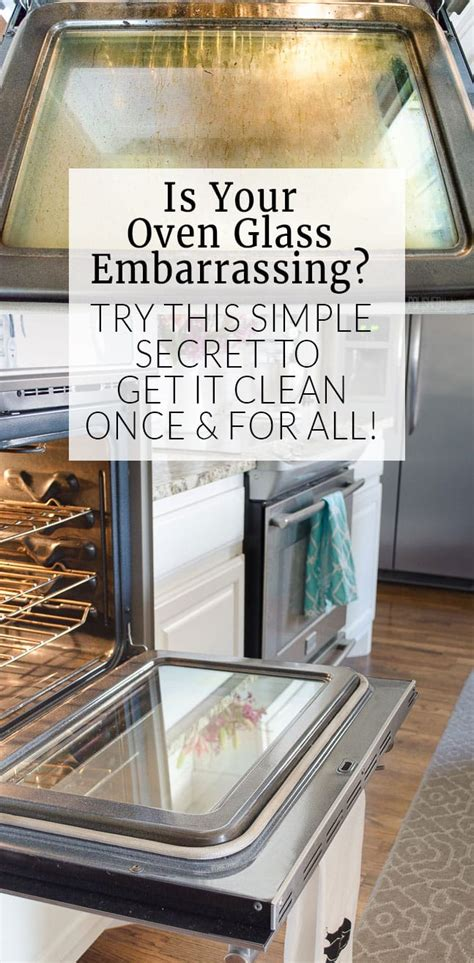 how to clean the oven how to clean oven glass