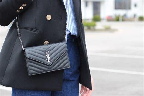 classic pieces     wardrobe ysl crossbody bag ysl wallet  chain ysl