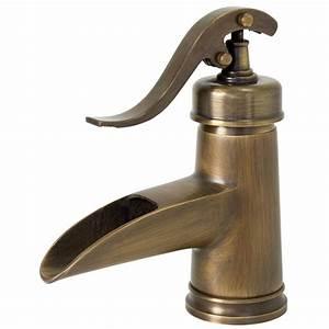 Mitigeur Lavabo Retro : nostalgie r tro lavabo levier unique mitigeur robinet ~ Edinachiropracticcenter.com Idées de Décoration