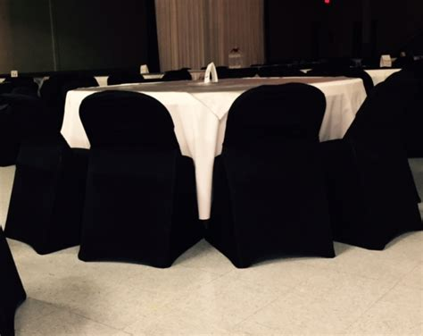 Black Folding Chair Covers. Ronay S Rental Boutique Chair