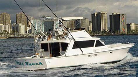 wild bunch hawaii deep sea fishing