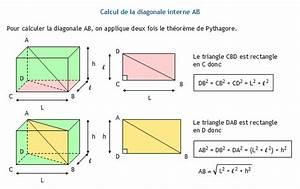 L Longueur Ou Largeur : calculer la diagonale interne d 39 un parall l pip de rectangle ~ Medecine-chirurgie-esthetiques.com Avis de Voitures