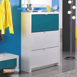 Schuhregal Weiß Hochglanz : schuhschrank garderobe schuhregal regal schrank ablage wei p ~ Indierocktalk.com Haus und Dekorationen
