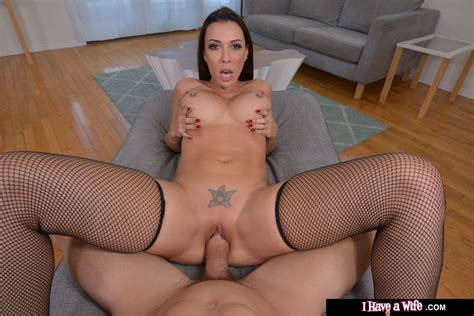 Sexy Rachel Starr In Black Lingerie Gives POV Fuck Of