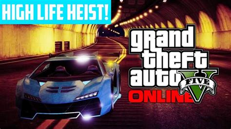 gta   bank heist preparations rare high life car