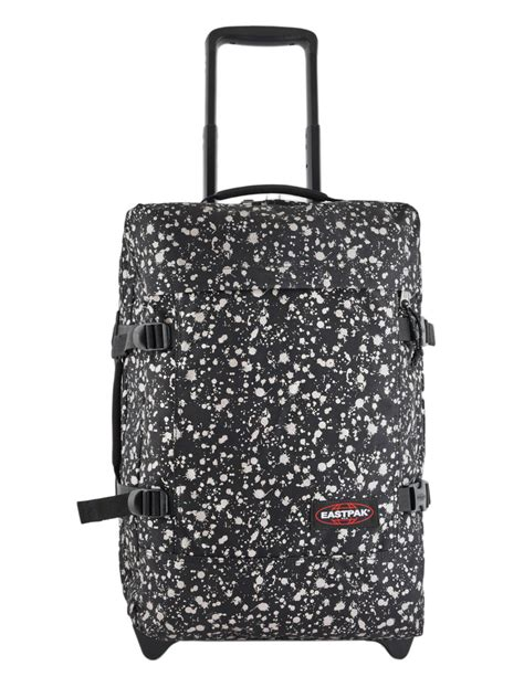 eastpak cabin luggage eastpak carry on suitcase tranverz s mist best prices