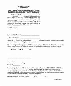 Sample Warranty Deed Form 8 Examples in PDF