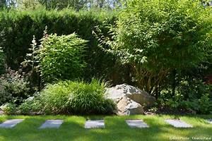 devant de maison en gravier 12 avant apr232s am233nager With amenagement exterieur terrain en pente 11 avant apras amenager un jardin tout en longueur