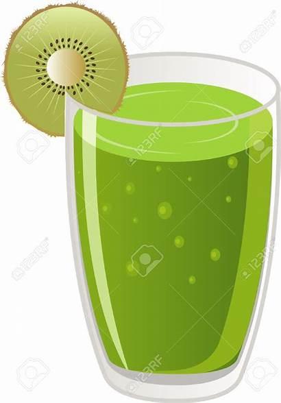 Juice Clipart Kiwi Fruit Glass Clipground Vector