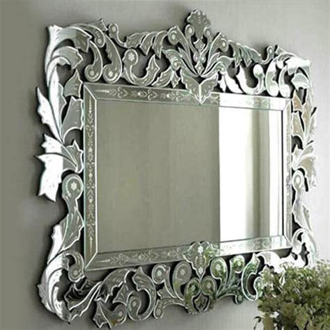 fancy mirror glass  rs  square feet
