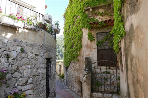 Visiting The Medieval Village Of Eze In France Contented