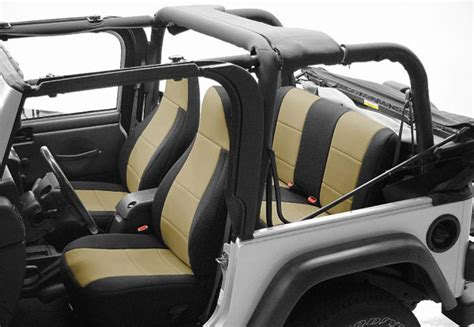 jeep wrangler backseat all things jeep neoprene rear seat covers for jeep