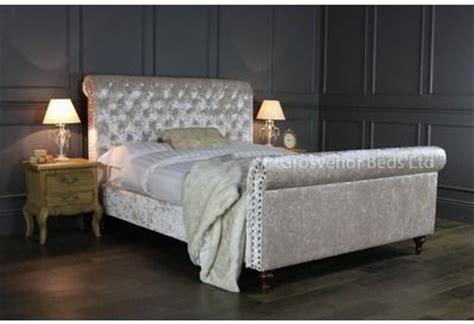 grey velvet sleigh bed 5927 westheimer houston 713 783
