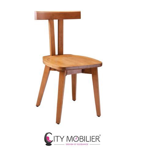 chaise en bois chaise minimaliste en bois stevenson city mobilier