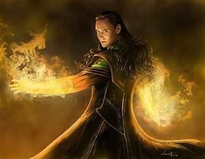 Loki God Of Fire by legadema666 on DeviantArt