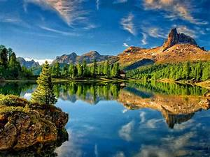 lake, mountain, sky, reflection, desktop, wallpapers, high, resolution, 1920x1080, , , wallpapers13, com