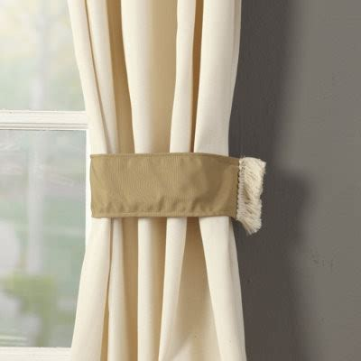 outdoor curtain tiebacks traditional outdoor decor