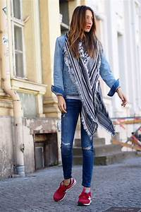 Outfits Con Tenis Azules Mujer