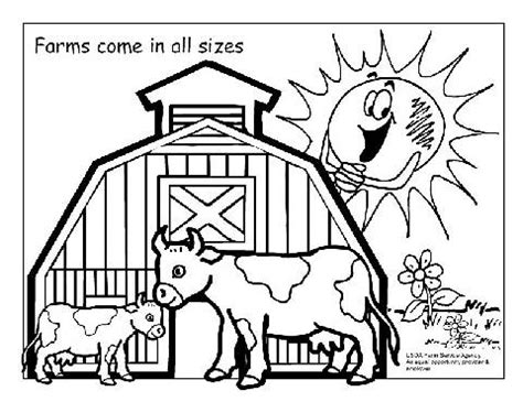 preschool farm animals coloring pages 452 | Farms 1